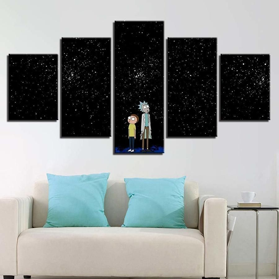 LOVE MOON CANVAS PRINT PICTURE WALL ART HOME DECOR MODERN DESIGN FREE DELIVERY