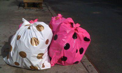 Pretty Garbage Garbage Creative Garbage Bag