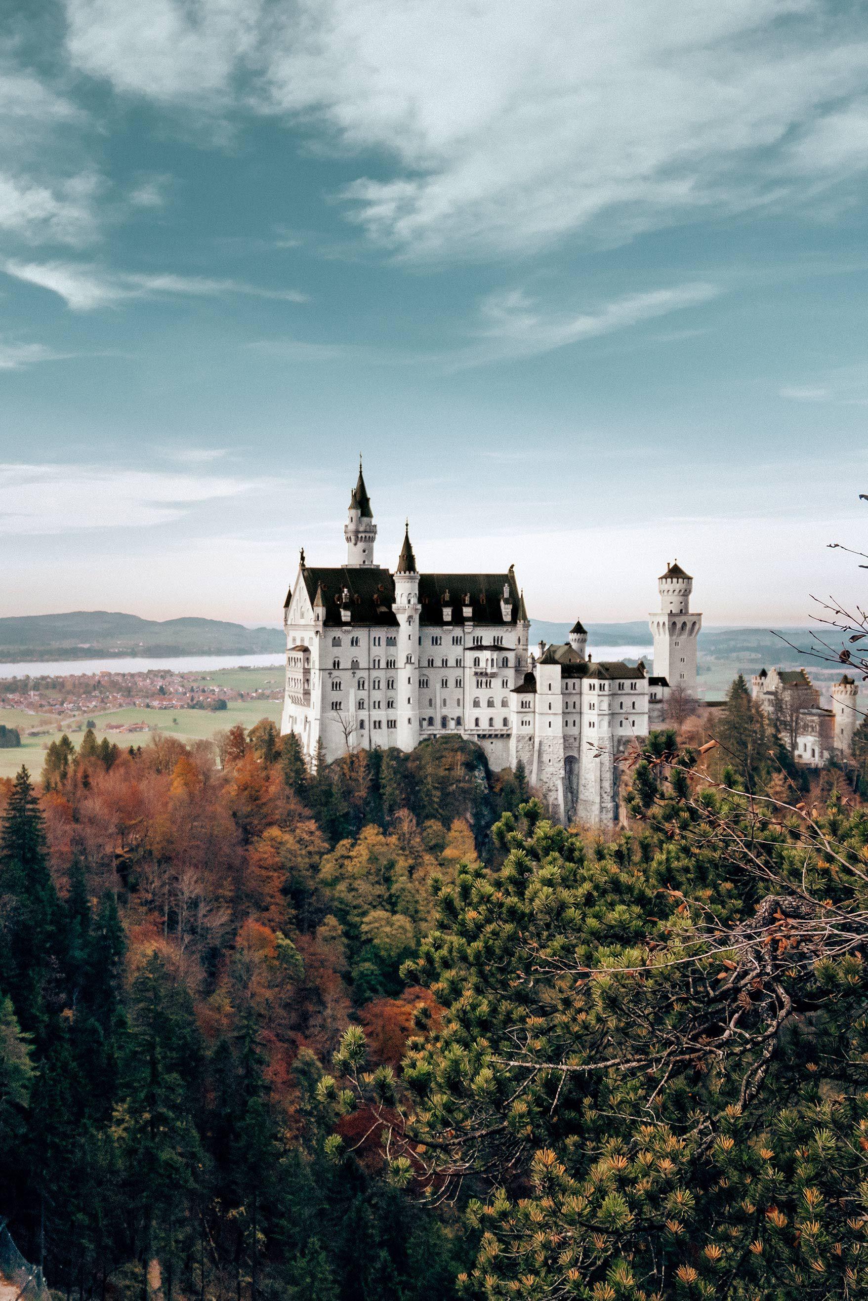 Marchenschloss Neuschwanstein Bayern Deutschland La Blonde Neuschwanstein Schloss Neuschwanstein Italien Reisen