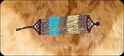 Beaded Zulu wrist bands