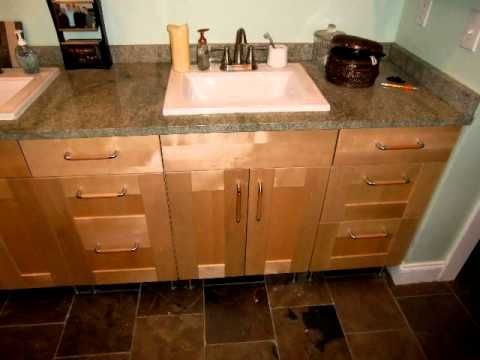Ikea Kitchen & Bath remodel with Ikea cabinets - YouTube | Middle ...