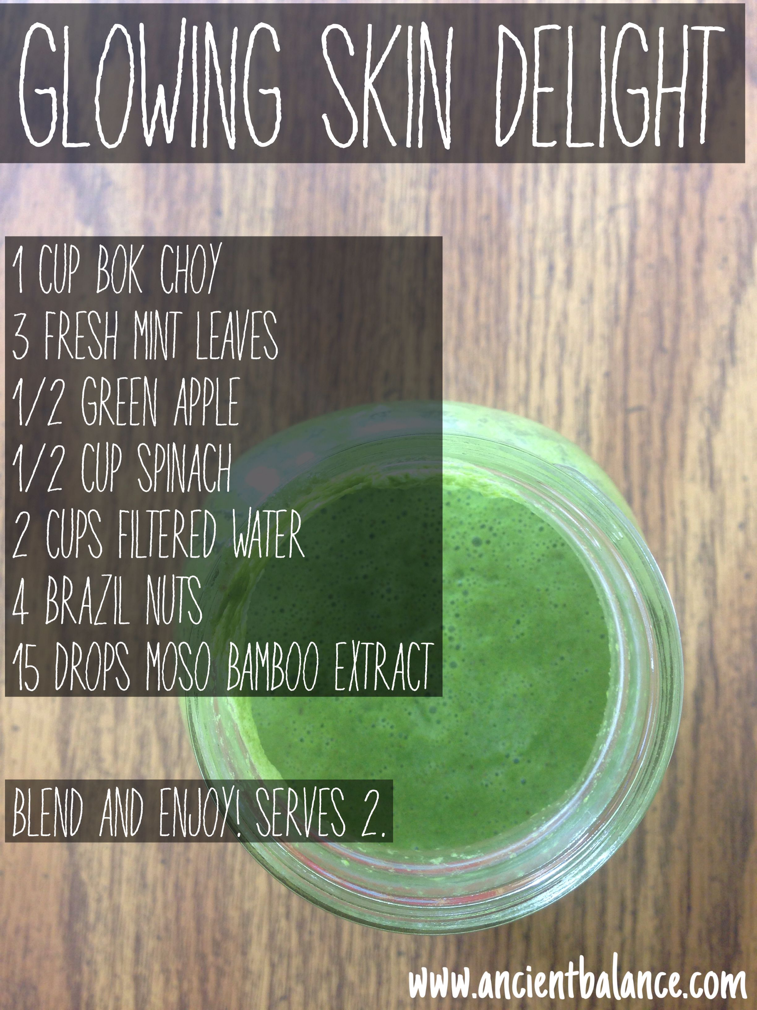 The Smoothie For Glowing Skin