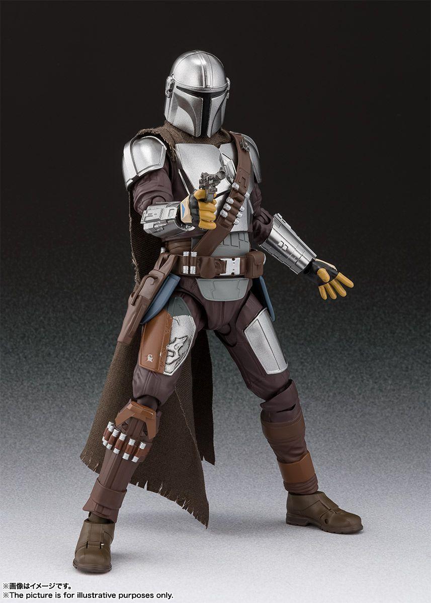 S.H.Figuarts Star Wars The Mandalorian The Child Set Beskar Armor Yoda