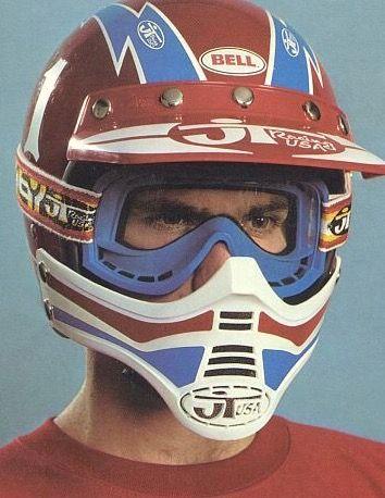 Jt Racing Vintage Helmet Vintage Motocross Motocross Bikes