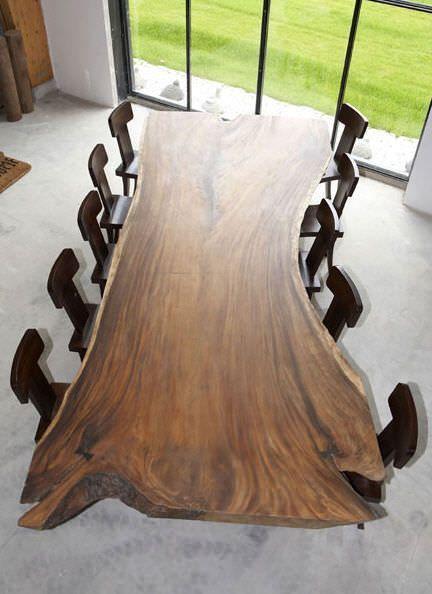 Konferenztisch Modern Fur Innenbereich Wohnbereich Acacia Sda Dec Holztisch Design Konferenztisch Holztisch Massiv