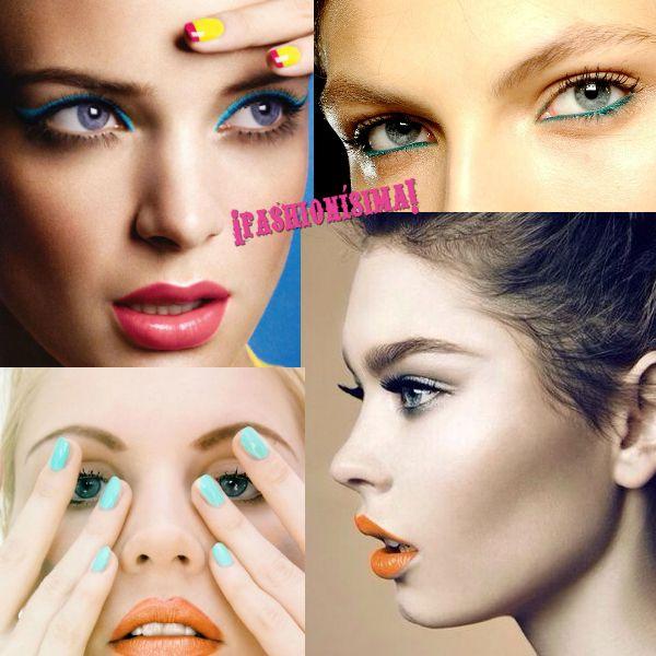 Girls' Night Out: este finde prueba algo diferente con un toque de color en tu make-up
