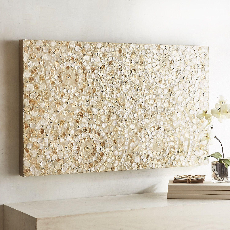 Capiz swirls wall panel in 2020 wall decor wall art