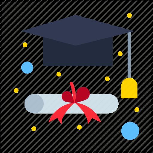 Cap Degree Graduation Icon Download On Iconfinder School Icon Graduation Icon