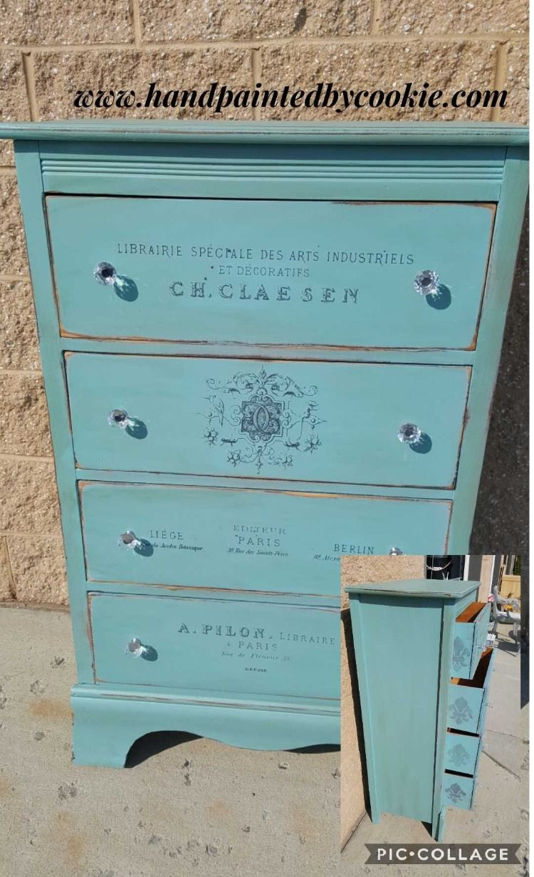 Shabby Chic Vintage Painted Furniture Simplythinkshabby