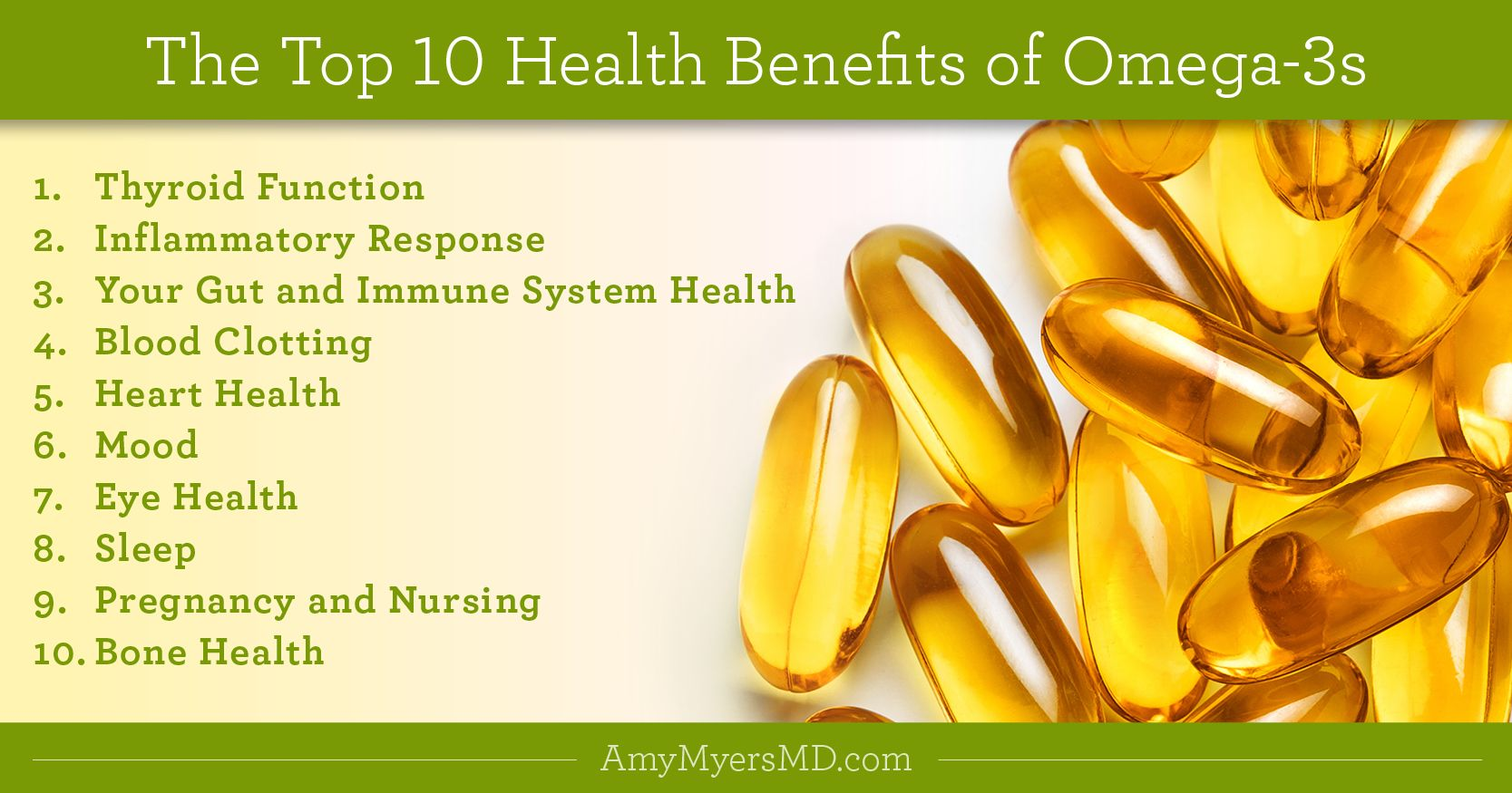 The Top 10 Health Benefits Of Omega 3s Fish Oil Benefits Health