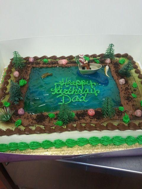 Lake Theme Cake Cakes I Ve Made Pinterest Cake And