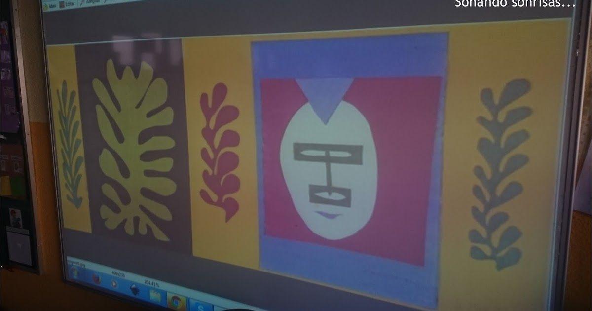 """""""El esquimal"""" de Matisse.     Este es el cuadro que hemos trabajado en este proyecto, es de Matisse y viene perfecto para trabajar varios a..."""