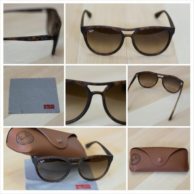 418f4a6f38 Ray Ban Matte Tortoise Shell RB 4170 for  140 on Carousell these are the  ones!