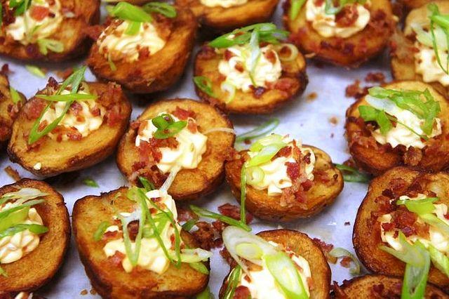 SGC Potato Skins by Saint Germain Catering, via Flickr