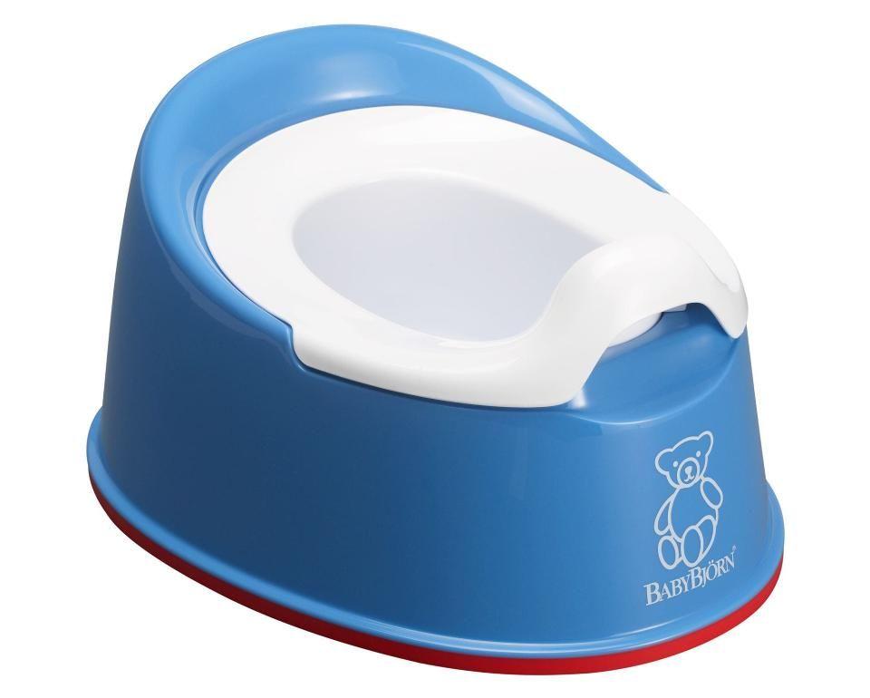Https Truimg Toysrus Com Product Images Babybjorn Smart Potty Blue 55a09e12 Zoom Jpg Baby Bjorn Potty Training Toilet Potty Training Fun