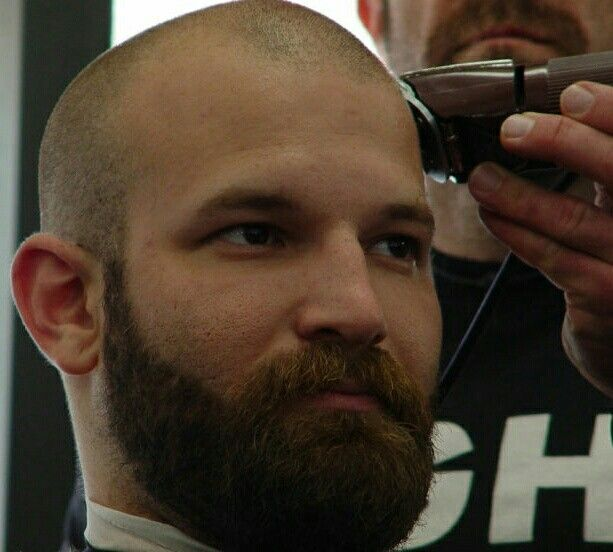 0 Cut With Beard Things To Wear From 0 To Shaved Head Hair