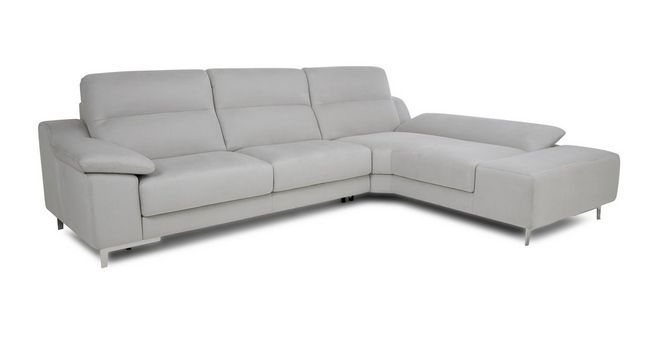 Guest Left Hand Facing 3 Seater Corner Sofa Bed Momentum Dfs