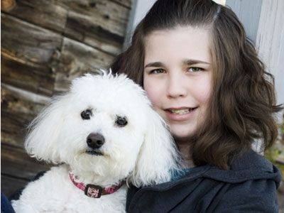 Therapy Dogs Helped Ally To Recover From Juvenile Dermatomyositis
