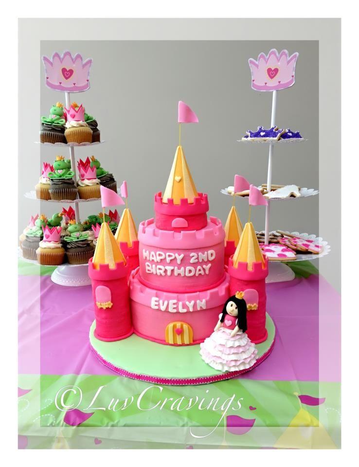 Princess Cake for a little princess Vancouver LuvCravings cake