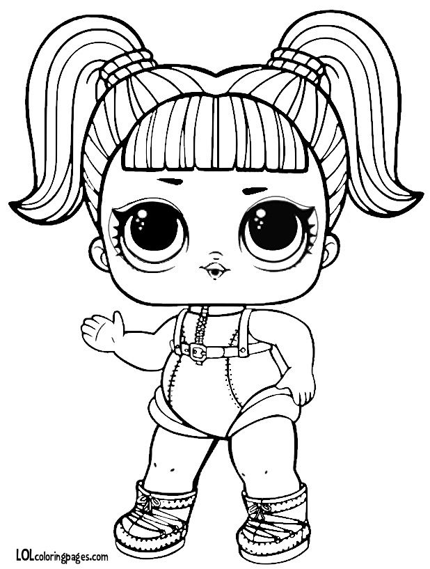 glamstronaut series 3 l o l surprise doll coloring page lol dolls