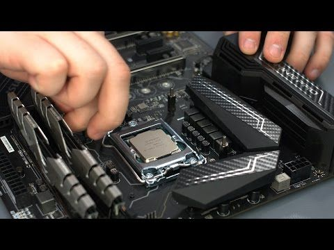 Kaby Lake Z270 Build Msi Z270 Gaming Pro Carbon Intel Core I5 7600k Intel Core Msi Intel