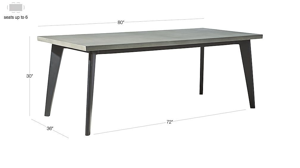 Harper Black Dining Table With Marble Top Dining Table Black