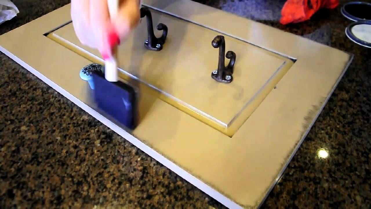 How to glaze Furniture Glazing furniture, Refinishing