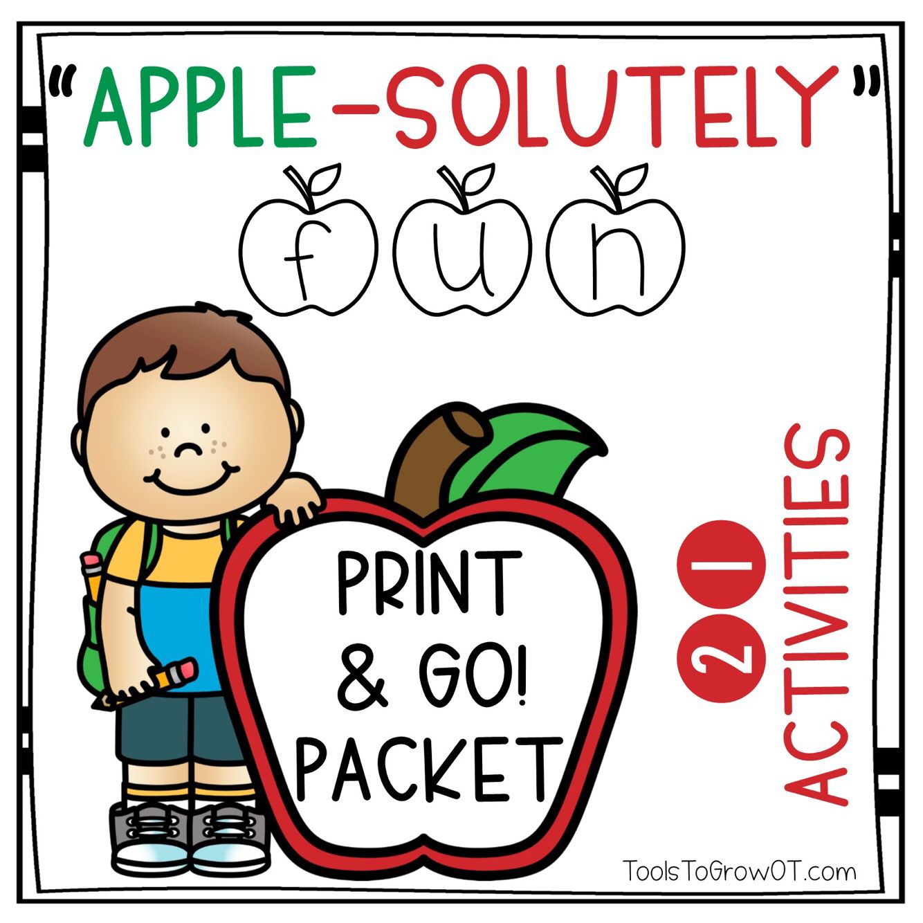 Apple Themed Packet