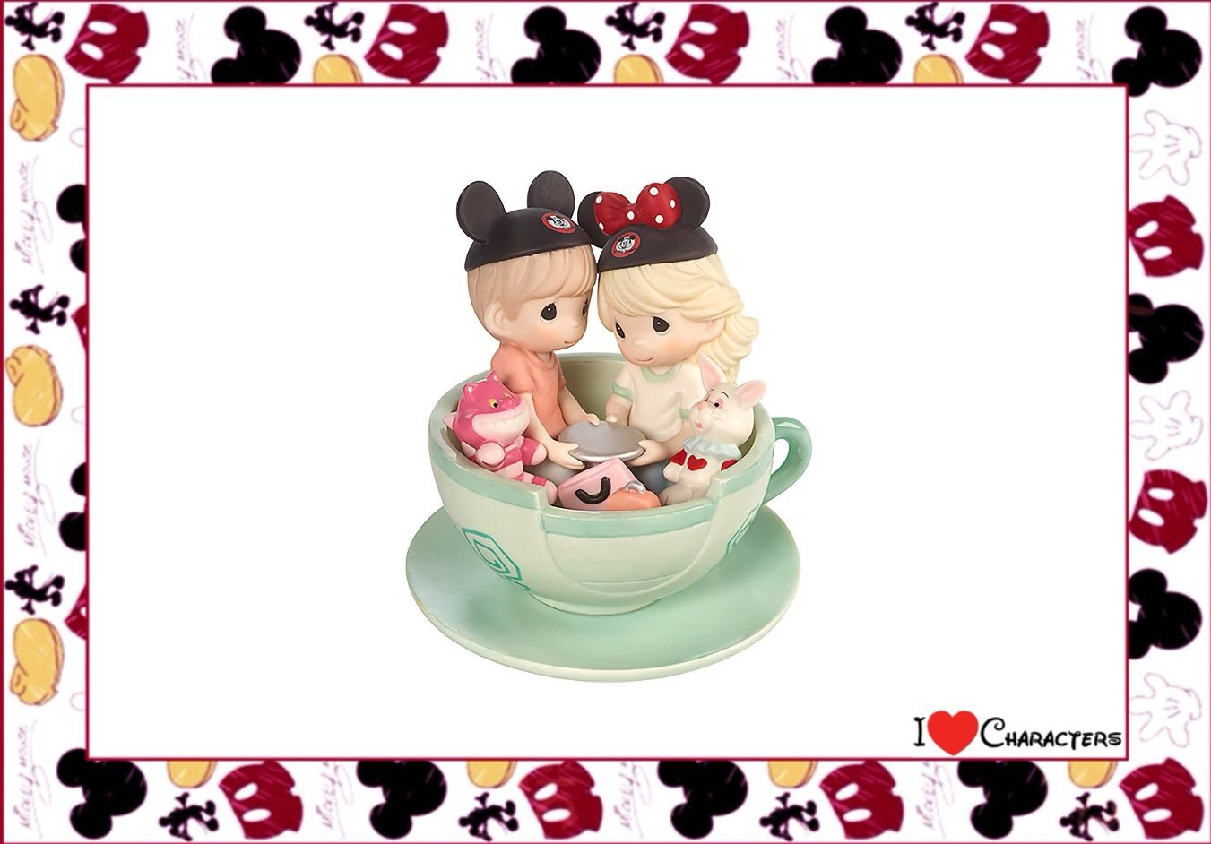 Disney Boy Girl Itus a Teariffic Day to Be with You Figurine