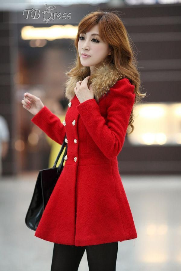 Fashion Japanese Style Slim Long Sleeves Double-breasted Korean Trench Coat#tbdress reviews#women clothing#warm coats#