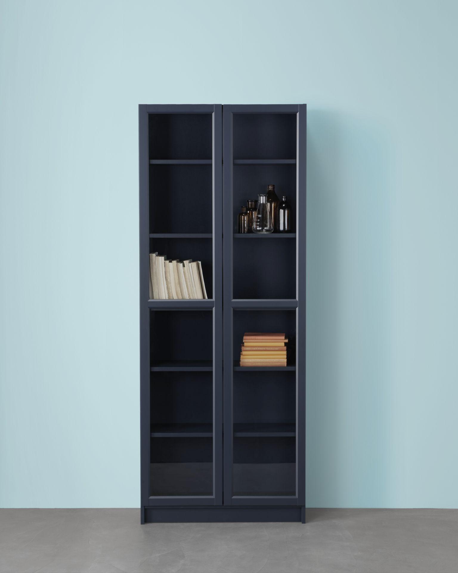Ikea Boekenkast. Simple Boekenkast Met Deuren Billy Oxberg ...