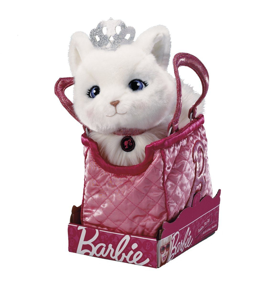 Barbie Pets Blissa Kitten With Quilted B Bag And Dress Amazon Co Uk Toys Games Brinquedos