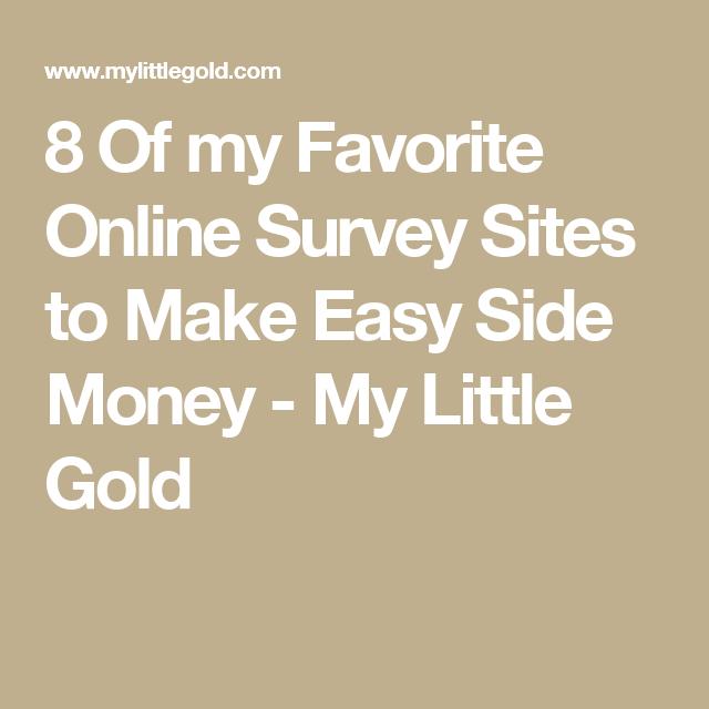 High Paying Surveys For Cash | Online survey sites