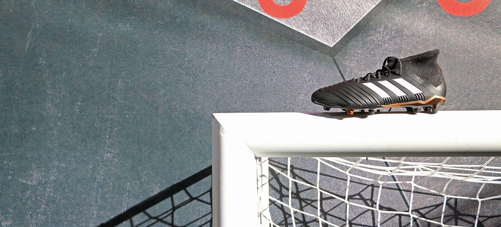 39d12a4707b Botas de fútbol adidas Predator. Foto: Marcela Sansalvador para futbolmania .com