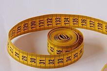 Cinta de medir de costura