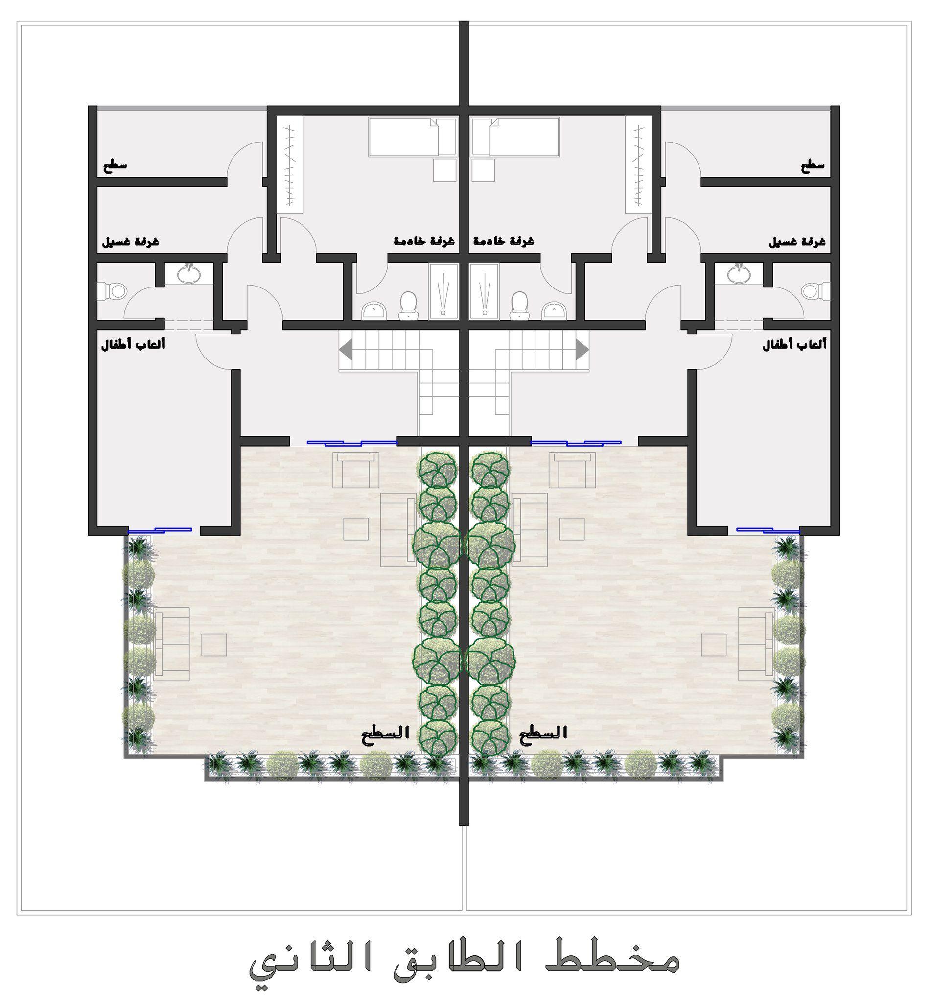 مخططات فلل Al1000a Twitter House Layout Plans Duplex House Design House Layouts