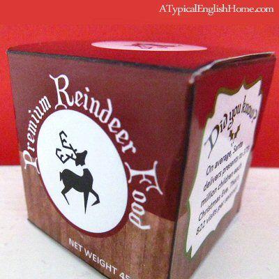 A Typical English Home: Reindeer Food Recipe #reindeerfoodrecipe