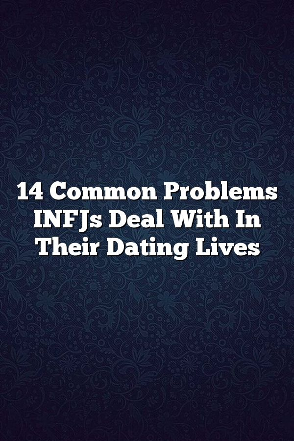 Isfj og infj dating