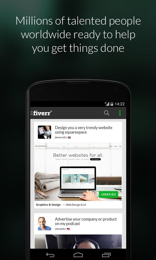 Get Anything Done For Just 5 On Fiverr Drippler Apps Games News Updates Accessories App Fiverr Android Info