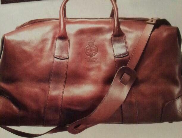 caab73fb6d Polo Ralph Lauren leather duffel bag  598   Macy s