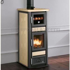 Stufa a legna Stuba con forno - Royal by Palazzetti | caminetti ...