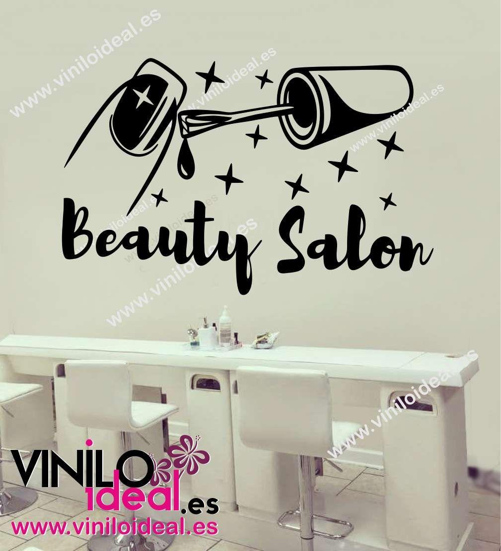 Vinilo Decorativo Belleza Adhesivos Para Est Tica Pegatinas Nails  -> Adesivo De Parede Estetica