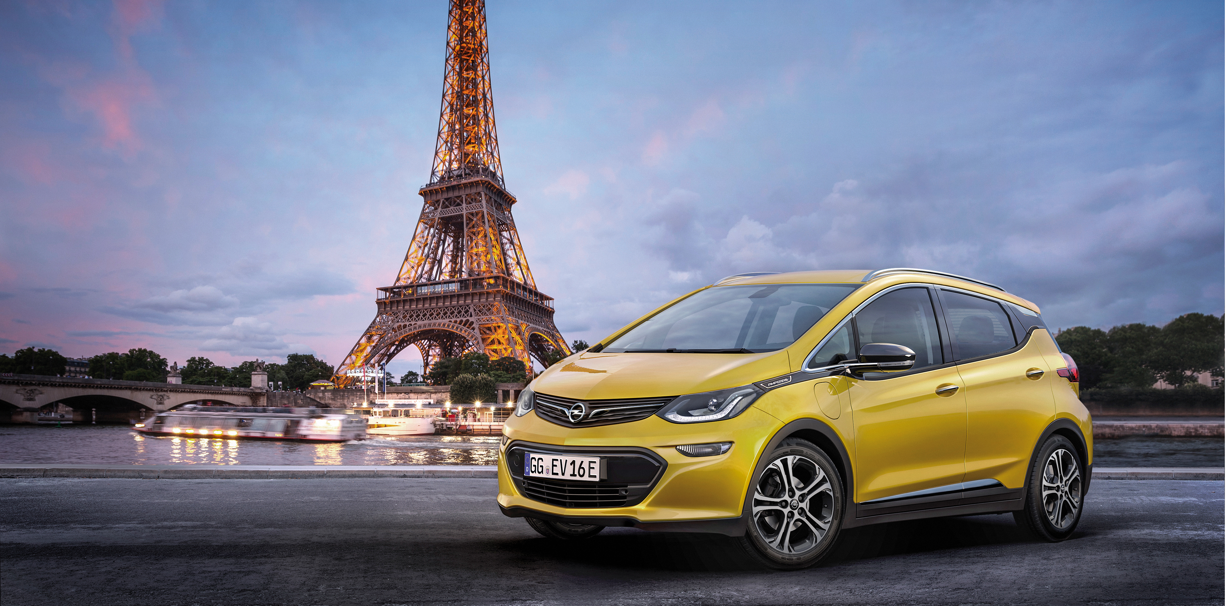 Gm S Opel To Unveil The Chevy Bolt Ev Based Ampera E In Paris Next
