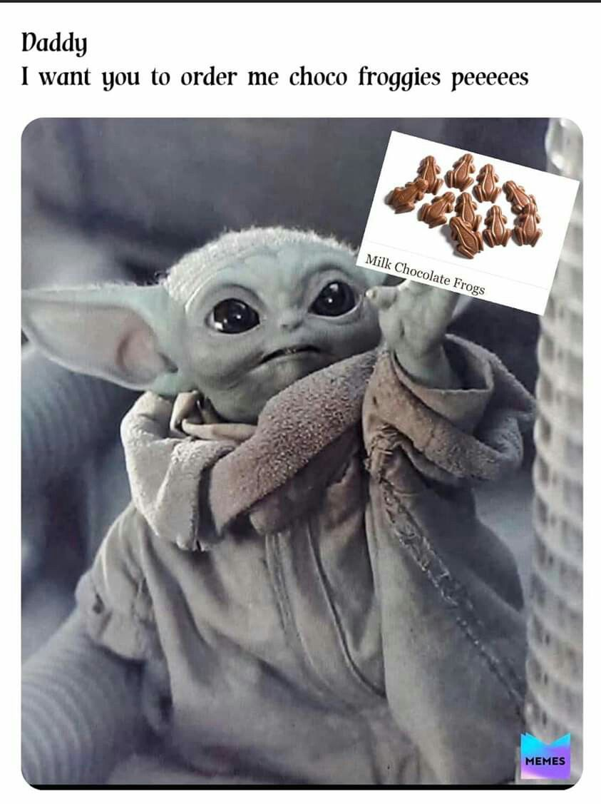 Pin By Gisel C On Baby Yoda Funny Baby Memes Yoda Funny Yoda Meme