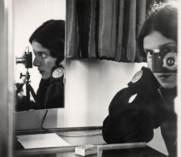 Ilse Bing, Self-Portrait in Mirrors, 1931. what photographers seldom shoot
