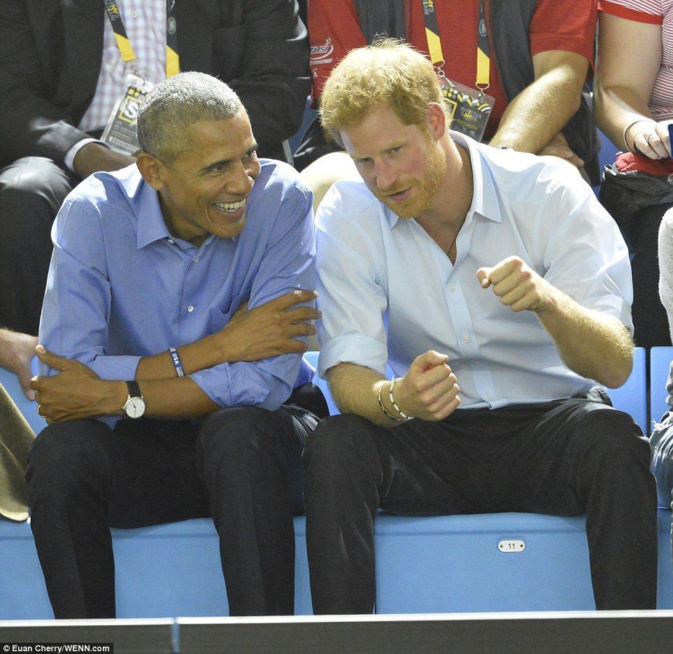Barack Obama Joins Prince Harry At The Invictus Games