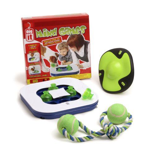 Dogit Mind Games 3in1 Interactive Smart Toy For Dogs Value Bundle
