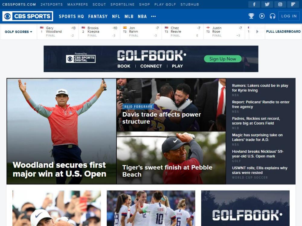 Ideas Sports Best Websites News Cbs Sports Sports Website