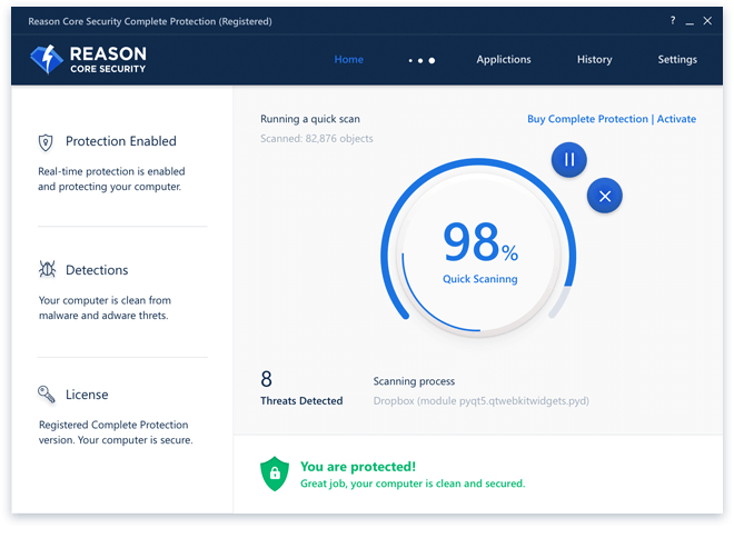 Reason Core Security for Android Phone | Free Software