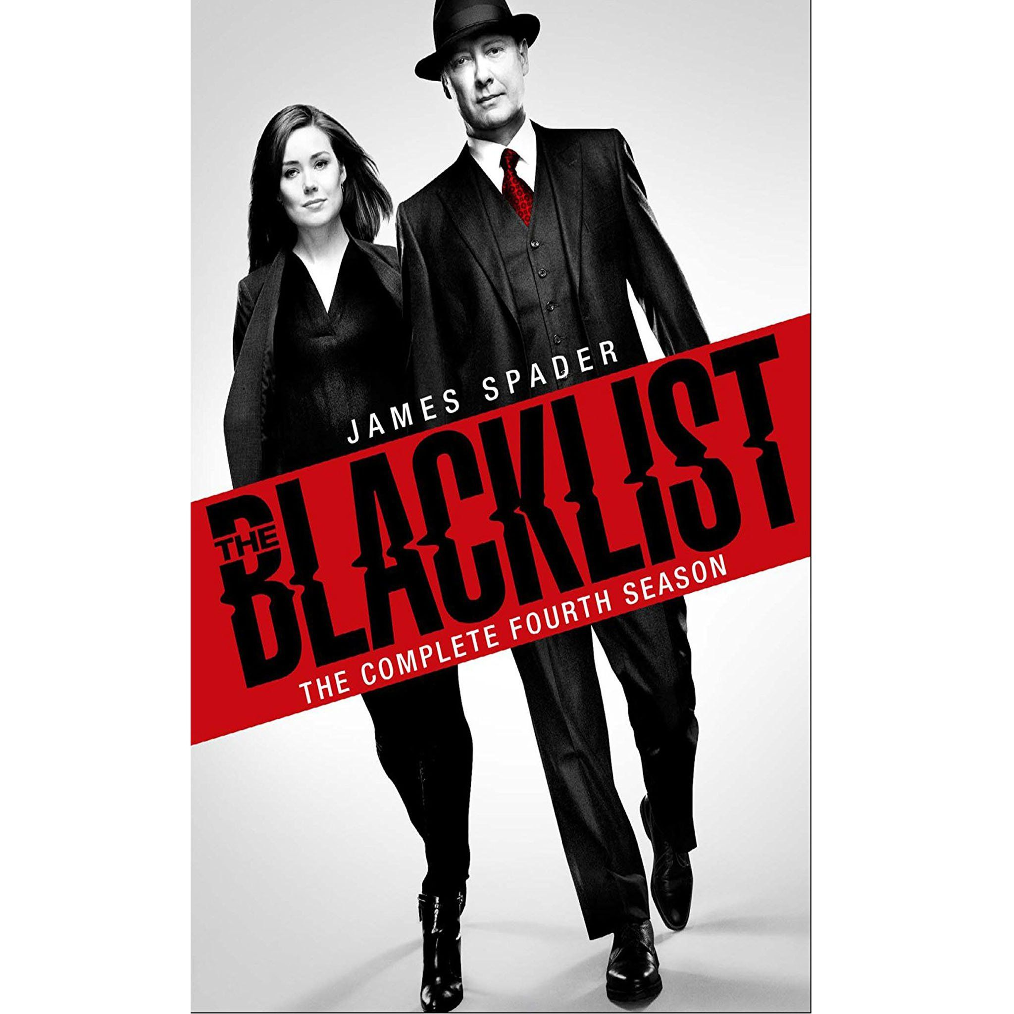 The Blacklist Season 4 (DVD) James spader, The blacklist